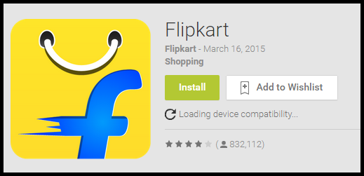 Download Flipkart mobile app dialogues